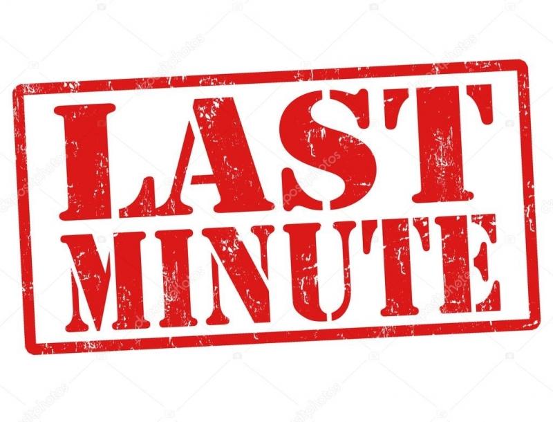 Balík: Last minute